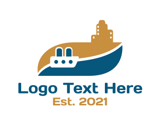 Travel - Beachside Ferry Travel logo design