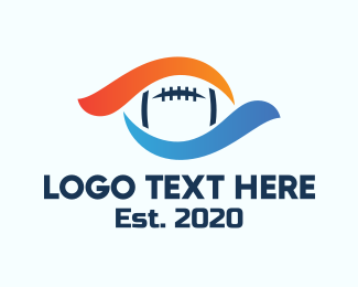 League - American Football League logo design