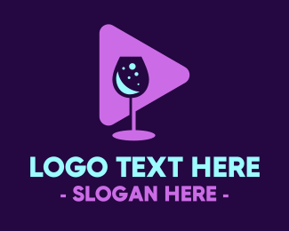 Zinfandel - Drinking Bar Vlog logo design