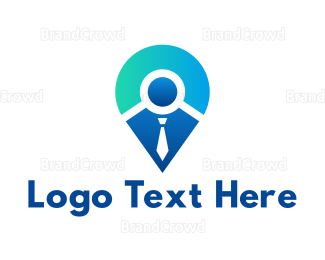 Coat - Modern Tie App logo design