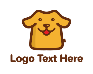 Pet Care - Cartoon Dog logo design