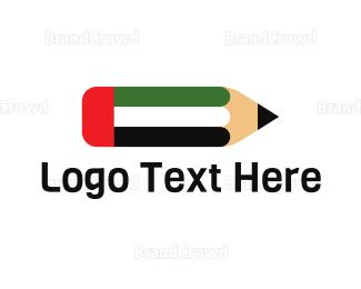 Draft - United Arab Emirates Pencil logo design