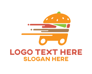 Delivery - Burger Delivery logo design
