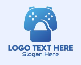 Commerce - Gaming Shopping Bag logo design