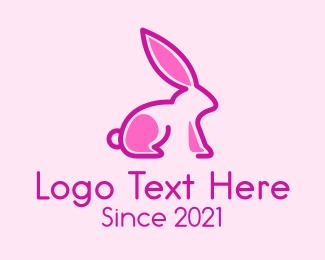 Animal - Rabbit  Animal  logo design