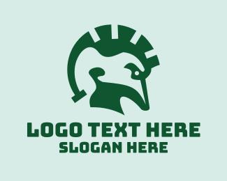 Spartan - Spartan Lizard logo design