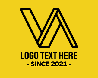 Va - Engineering Monogram V & A logo design