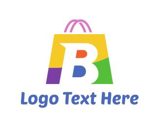 Sale - Shopping Bag logo design