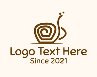 Stylized - Coffee Twirl logo design