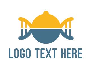 Chef - DNA Food logo design