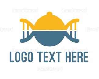 Biologist - DNA Food logo design