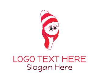 Eskimo - Christmas Character logo design
