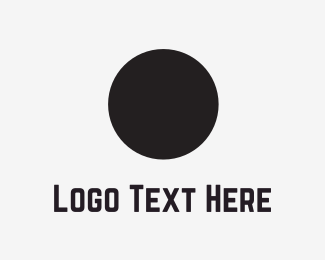 Elegant - Black Circle logo design