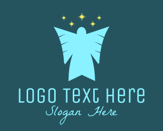 Angel - Star Angel  logo design