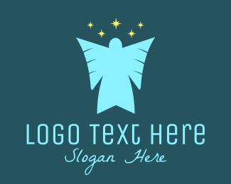 Saint - Star Angel  logo design