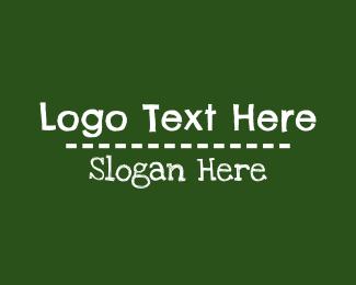 Preschool - Preschool Blackboard Wordmark logo design