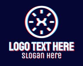 App - Static Motion Letter X Tech logo design