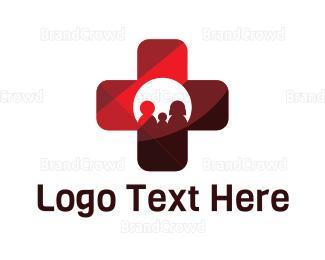 Hospital - Family Health logo design