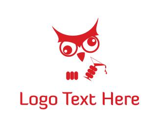 Sick - Dizzy Owl logo design