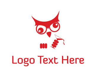 Pub - Dizzy Owl logo design