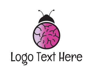Brain - Brain Bug logo design