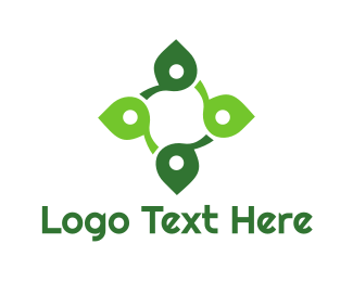 Celtic - Leaf Wellness Cross logo design
