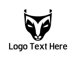 Mask - Deer Mask logo design