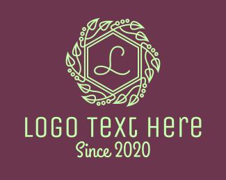 Leaves - Green Leaves Letter logo design