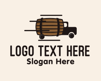 Underground - Beverage Barrel Delivery Truck  logo design