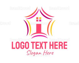Gate - Home Star logo design
