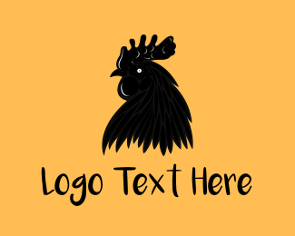 Chicken - Black Chicken logo design