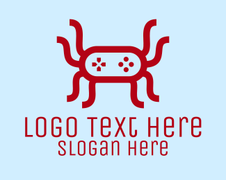 Spider - Video Game Spider logo design
