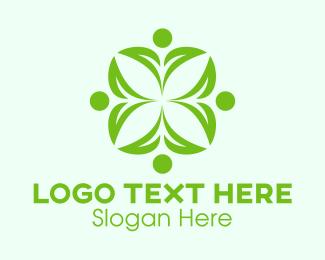 Yoga Instructor - Green Eco Team  logo design