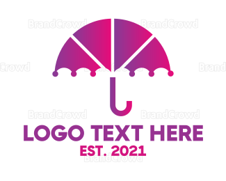 Umbrella - Umbrella App logo design