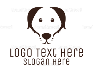 Pet Care - Minimalist Dog  logo design