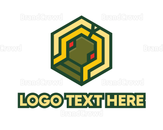 Cryptocurrency - Colorful Geometry logo design