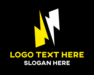 Flashy - Electric Thunder Flash logo design