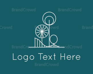Architect - Amusement Park logo design