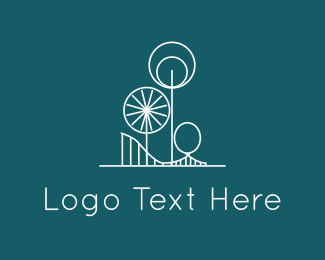 Playground - Amusement Park logo design