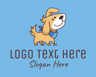 Pet Grooming - Puppy Dog Pet logo design