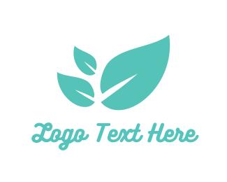 Mint Leaves Logo