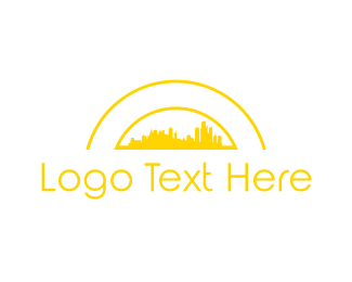 Skyline - Yellow City logo design