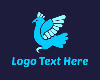 Turkey - Blue Turkey logo design