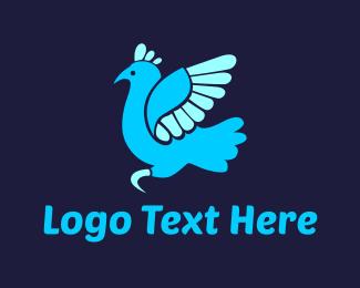 Turkey - Blue Turkey logo design