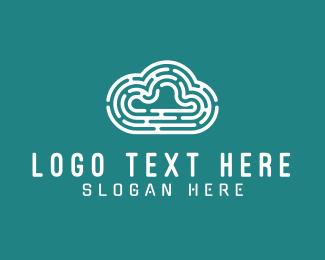 Stream - Maze Cloud logo design