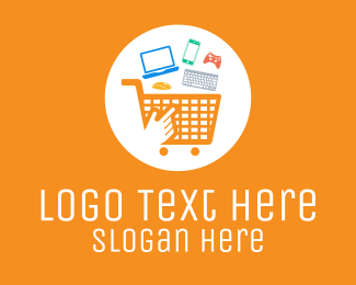 Techy - Online Gadget Shopping  logo design