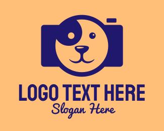 Veterinary - Brown Dog Camera logo design