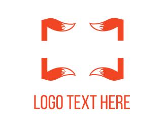 Rectangle - Fox Tails logo design