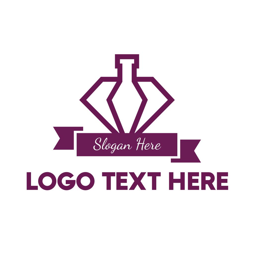 Luxury Perfume Logo Template: Elegant Perfume Logo