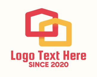 Duplex - Modern Duplex House logo design